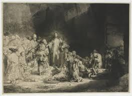 Rembrandt - HonderdGuldenPrent