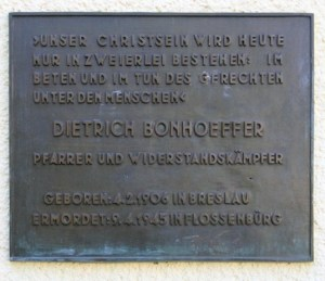 dietrich-bonhoeffer-gedenksteen