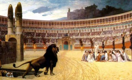 christenvervolging-Romeinse-Rijk - Appie Abspoel
