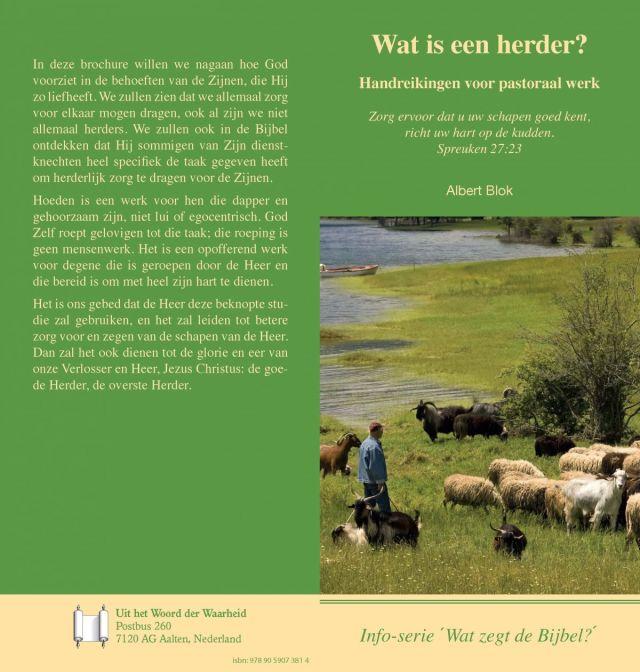 Wat is een herder - Uit het woord der waarheid