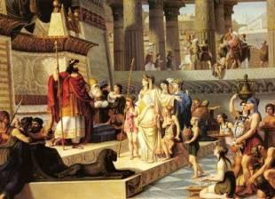 Salomo en koningin van Sjeba - Franklin ter Horst