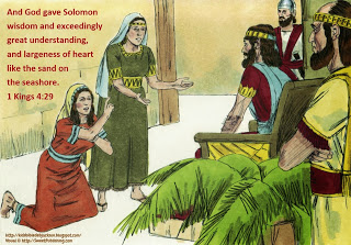 Salomos Wisdom - Bible Fun For Kids