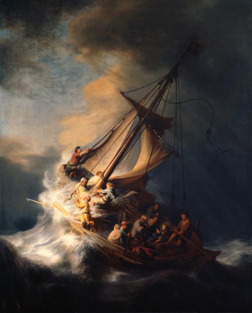 Storm en Jezus slaapt - Alexander Veerman