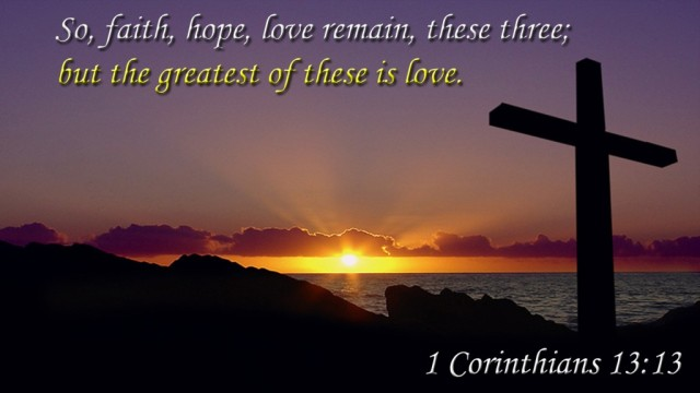 Love the greatest - Cor 13 - Klankbord