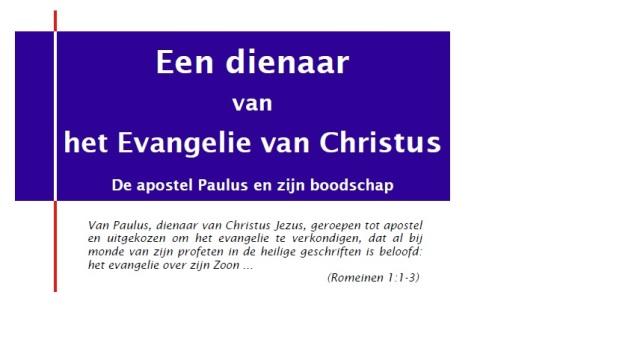 Paulus een dienaar - Met Open Bijbel