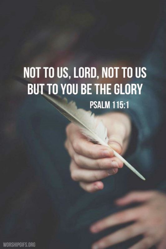 Psalm 115 - Not to us - The Living