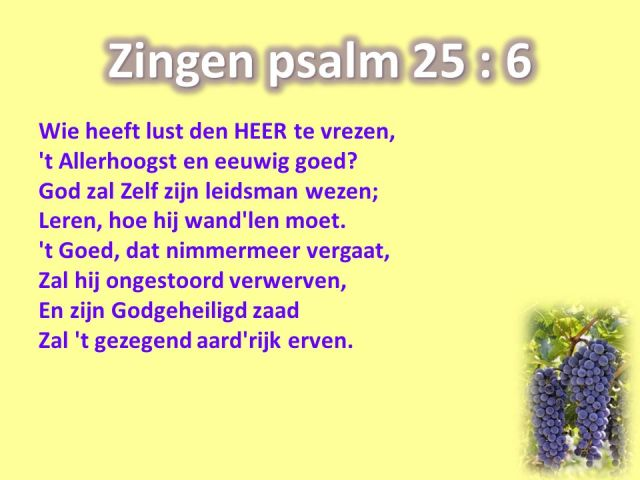Psalm 25-6 - wie heeft lust - SlidePlayer
