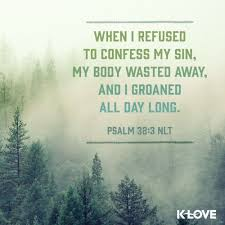 Psalm 32 - refused to confess - Pinterest