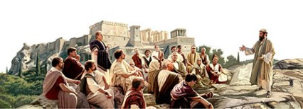 Hand 17 - Paul teaching in Athene - The Church of Jesus Christ of Latter-day Saints