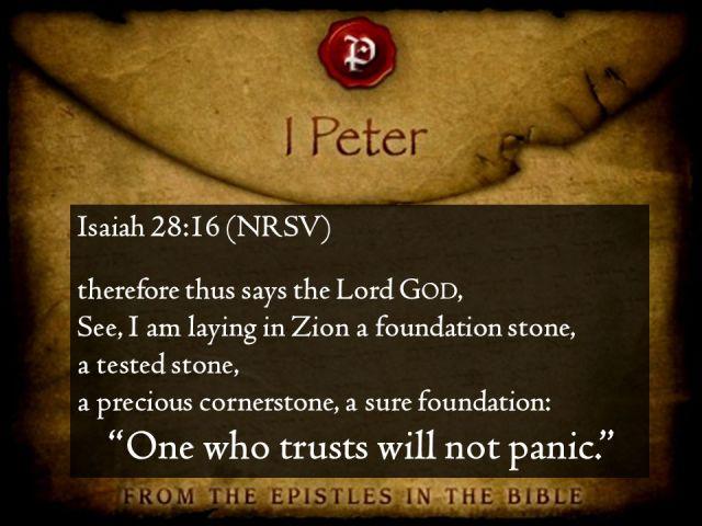 Jesaja 28-16 A precious cornerstone - SlidePlayer