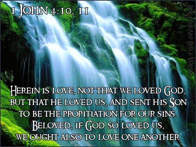 1 Johannes 4 10-11 - PicQuery