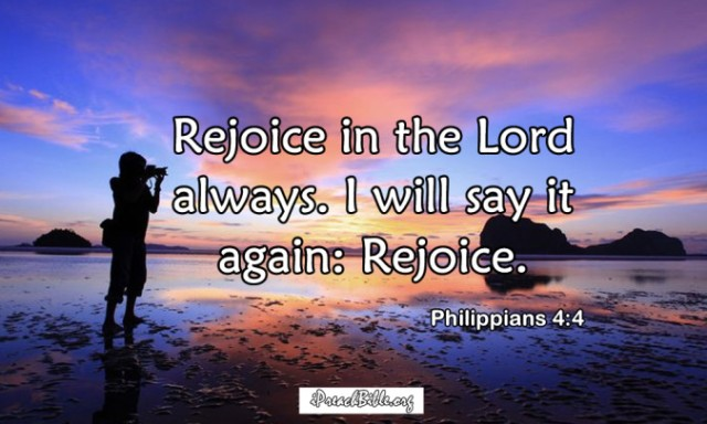 Filippenzen 4 4 - Rejoice in the Lord - Pinterest