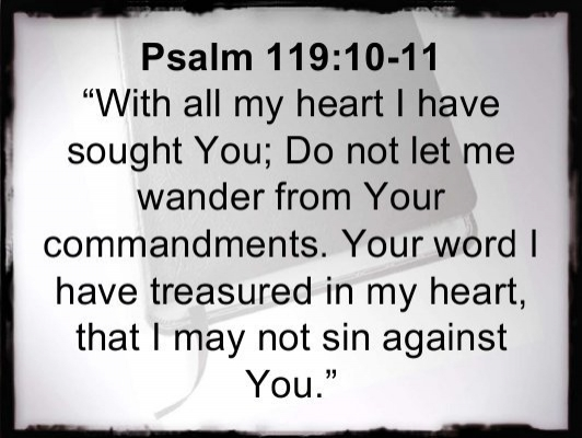 Psalm 119 10-11 - With all my heart - Yumpu