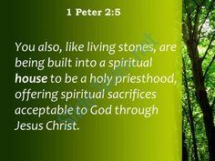 1 Petrus 2 5 - Priesterhood - Pinterest