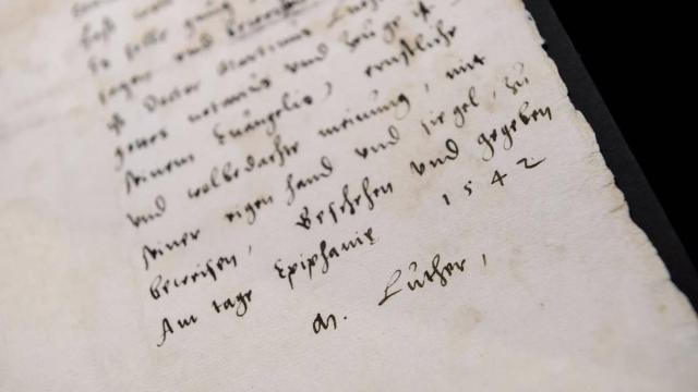 Handschrift Luther - RD.nl