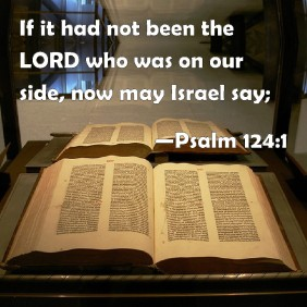 Psalm 123 1 - If it had not been the Lord - BiblePic com