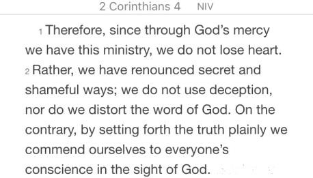2 Korintiërs 4 1-2 - Servants found faithful v2 - Pinterest