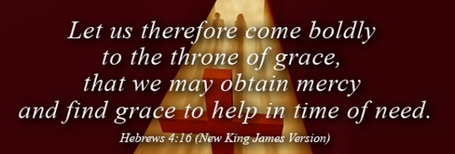 Hebreeën 4 16 - Let us therefore come boldly - The Fellowship Site