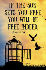 Johannes 8 36 - if the Son sets you free - Pinterest