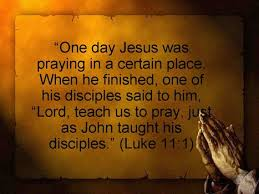 Lukas 11 1 - Lord teach us to pray - Pinterest