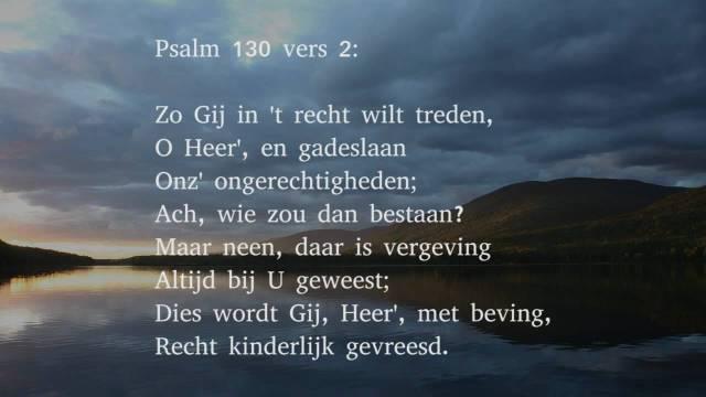 Psalm 130 v2 - Oude berijming - YouTube groot