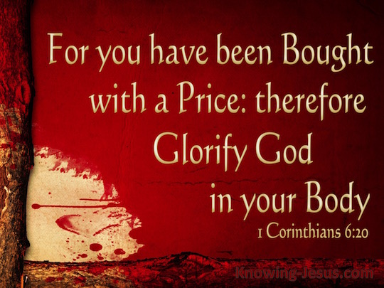 1 Korintiërs 6 20 You Have Been Bought - Knowing Jesus