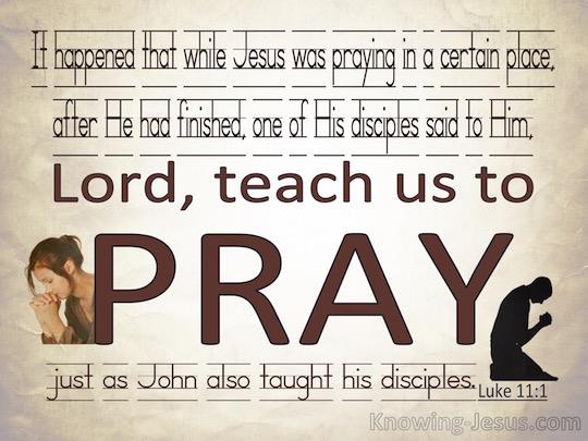 Lukas 11 2 - Leer ons bidden - Pinterest
