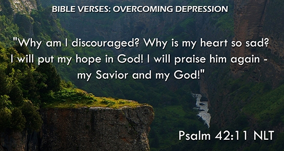 Psalm 42 12 - Why are you so discouraged - Pinterest