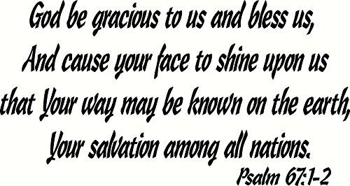 Psalm 67 2-3 - Let the light of your face shine - Pinterest