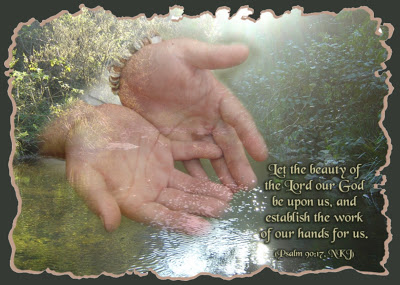 Psalm 90 17 - Let the favor of our Lord - Pinterest