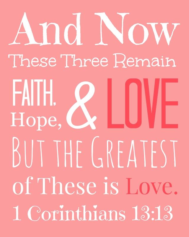 1 Korintiërs 13 13 - Love - Pinterest