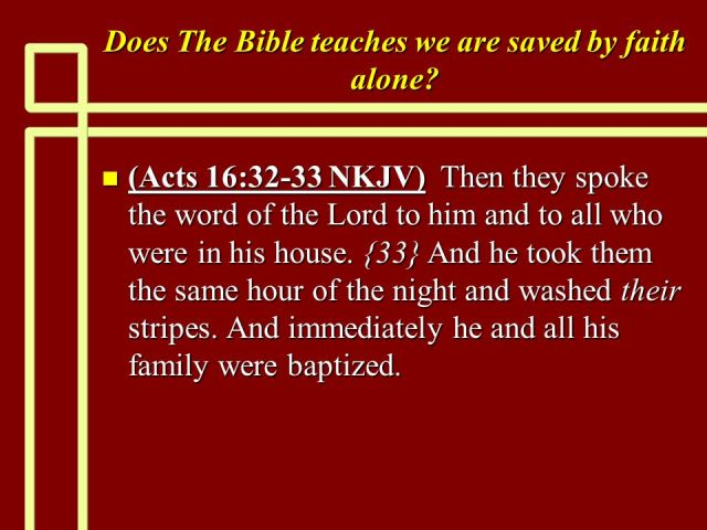 handelingen 16 32-33 - and immediately he and all his family were baptized - SlidePlayer
