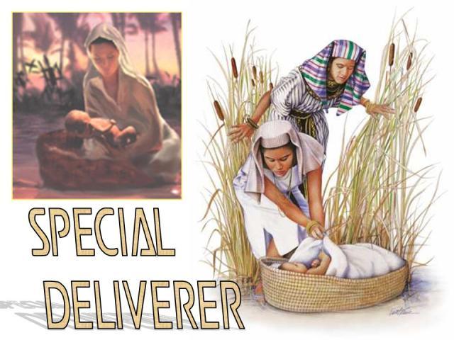 Exodus 2 4-6 - Moses and sister Nile - Grace Baptist Church