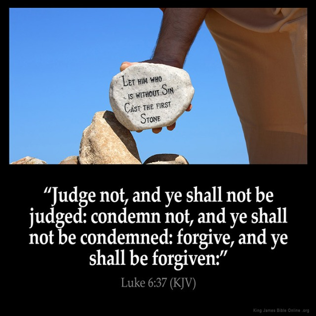 Lukas 6 37 - Forgive - King James Bible